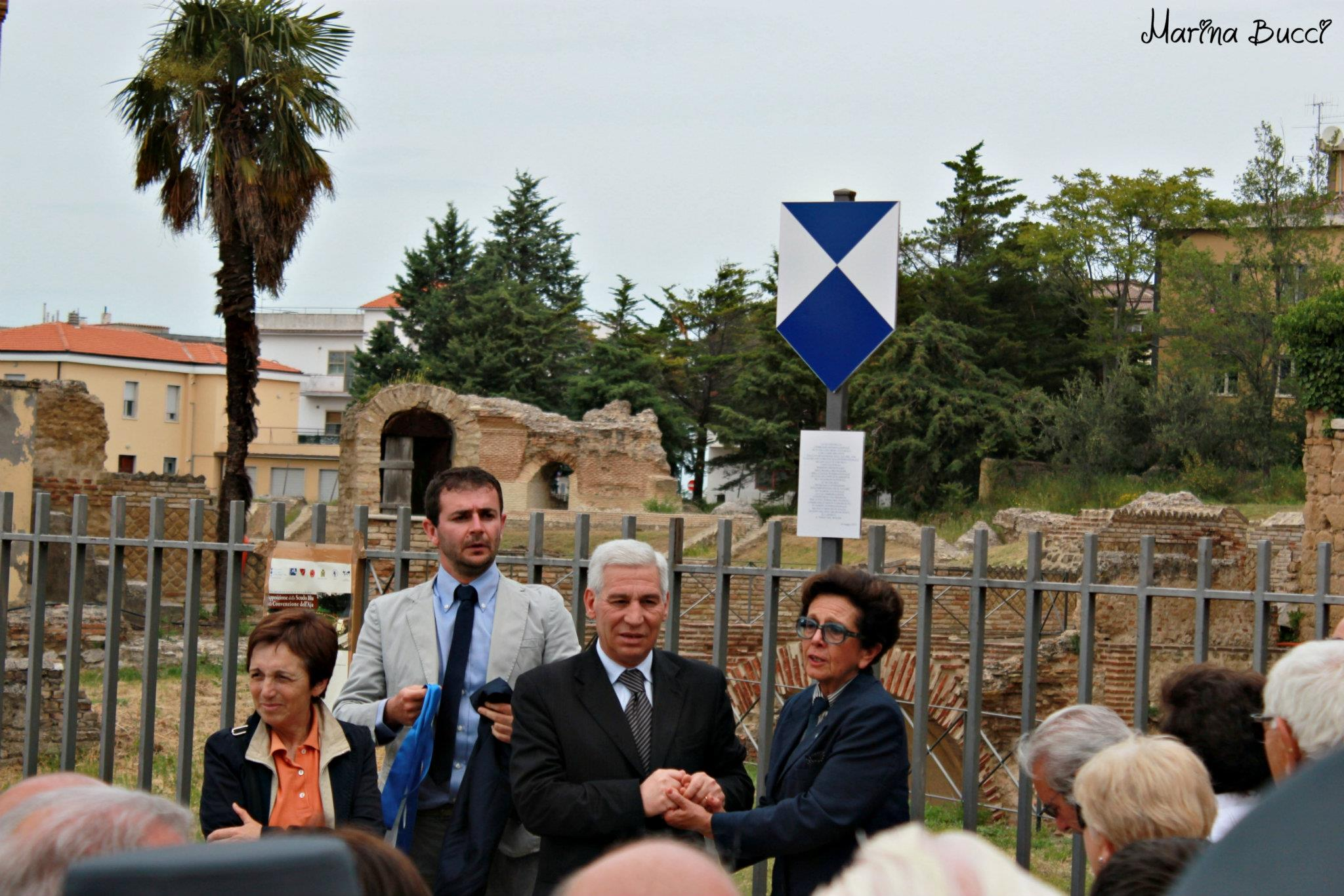Massimo-Starita-Inaugurazione-Scudo-Blu-Anfiteatro